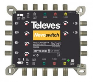 Multiswitch 5x5x6 NevoSwitch Televes 714502 - outlet