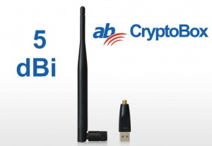 Adapter Wi-Fi Cryptobox 5dB