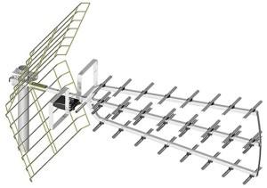 Antena zewnętrzna kierunkowa