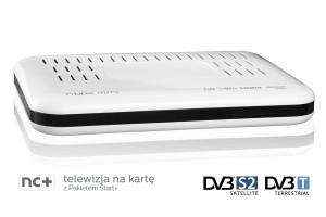 NC+ telewizja na kartę z dekoderem ITI 2849