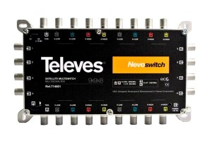 Multiswitch 9X9X8 Televes Nevoswitch 714601