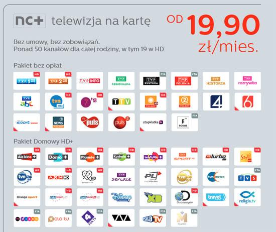 dekoder adb 5800s nc telewizja na kart