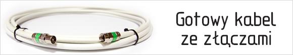 Gotowy kabel zezłączami