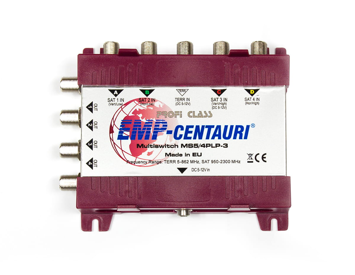 Multiswitch 5/4 EMP-CENTAURI