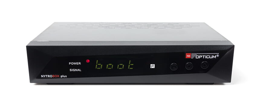 Opticum Nytro Box Plus DVB-T2/C H.265 - front