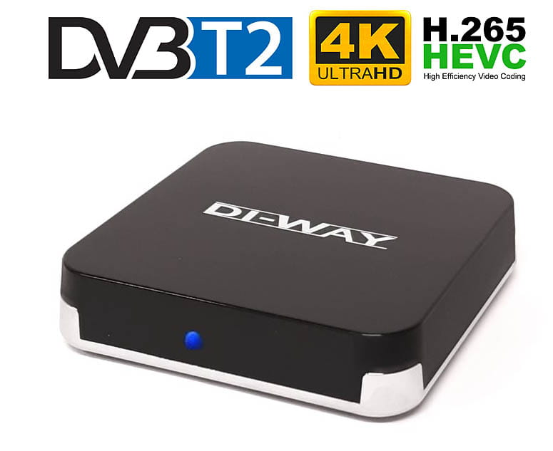 DI-WAY AND-4X4 DVB-T2 H.265 Android 4K-pogled sprijeda